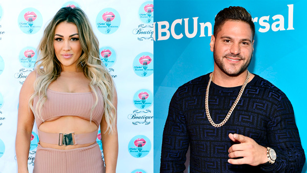 Jen Harley and Ronnie Ortiz-Magro