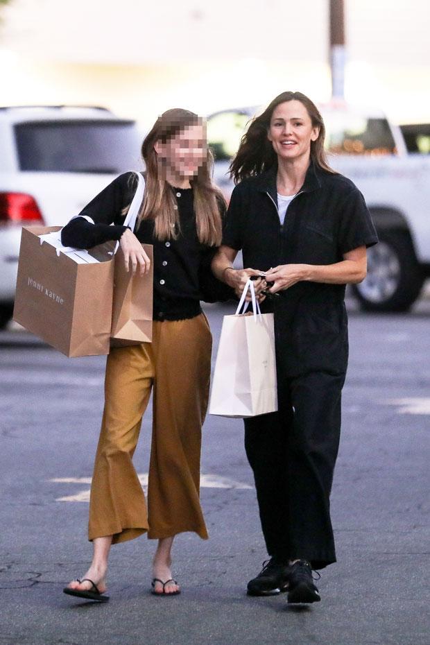 jennifer garner violet garner shopping