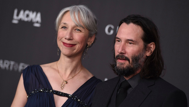 Keanu Reeves and Alexandra Grant