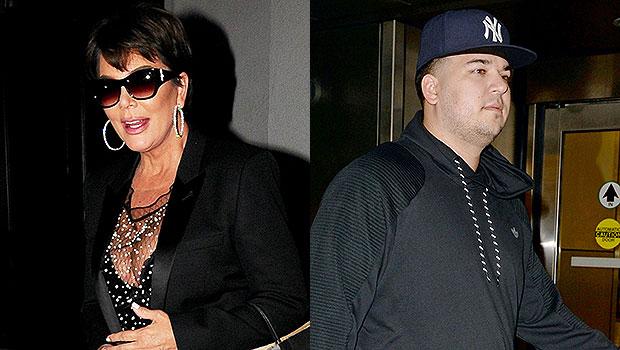 Kris Jenner & Rob Kardashian
