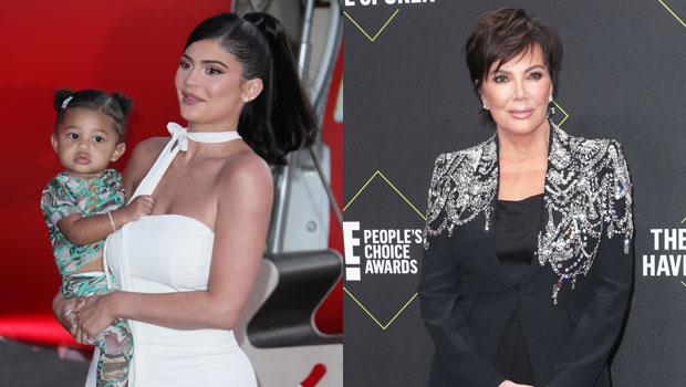 Kylie Jenner, Stormi Webster & Kris Jenner