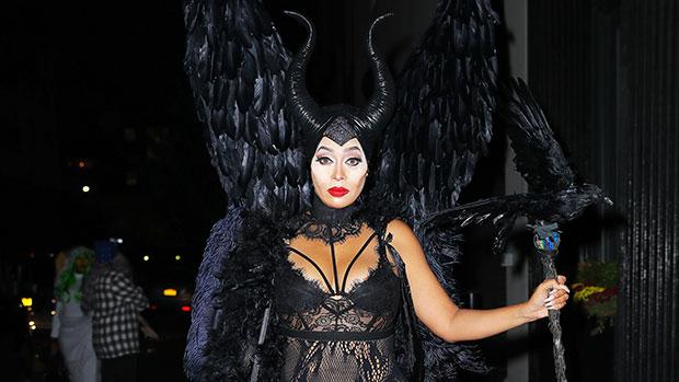 la la anthony maleficent costume
