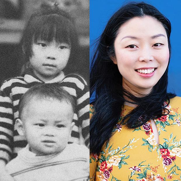Nanfu Wang as a child
