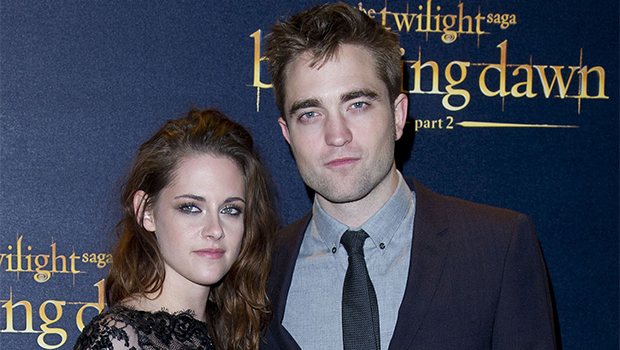 Robert Pattinson & Kristen Stewart on the red carpet promoting 'Twilight'