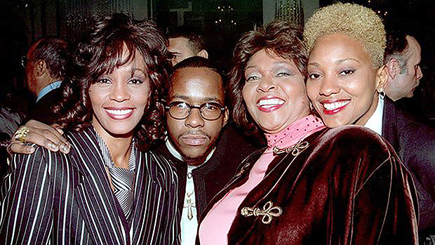 Whitney Houston, Bobby Brown a friend & Robyn Crawford