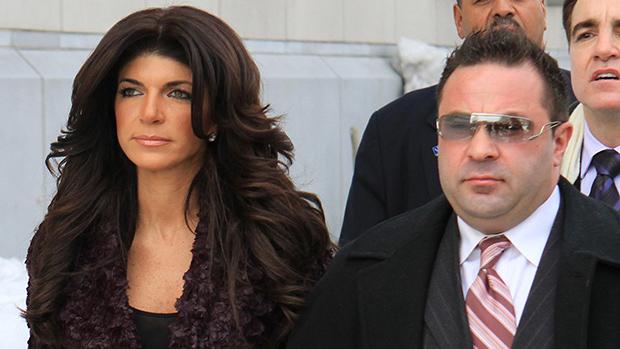Teresa & Joe Guidice on their way to court