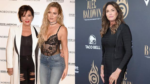 Kris Jenner, Khloe Kardashian, Caitlyn Jenner