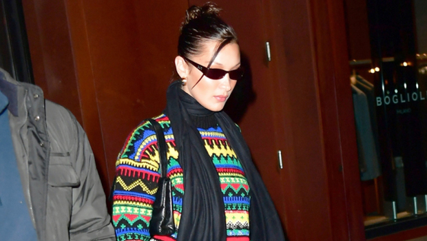 24 Stars Ready For The Holidays In Ugly Christmas Sweaters: Bella Hadid, Beyonce & More