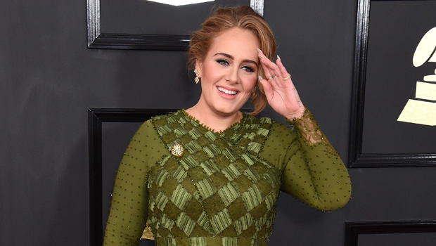 Adele on the red carpet
