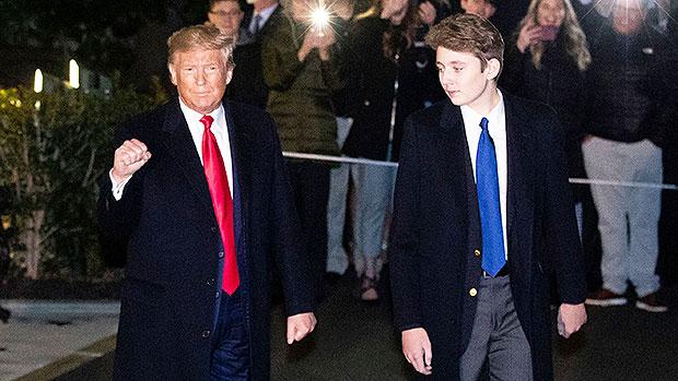 Barron & Donald Trump