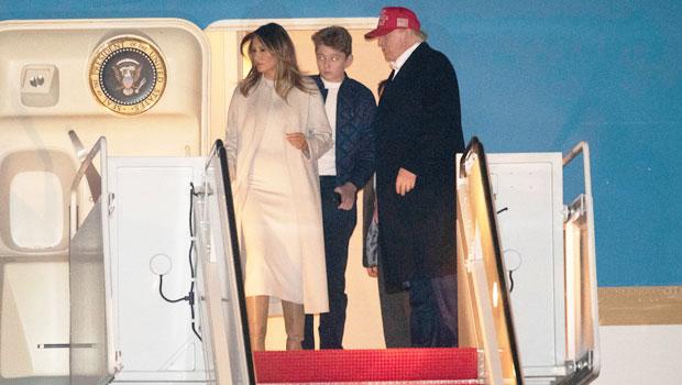 Melania Barron Donald Trump