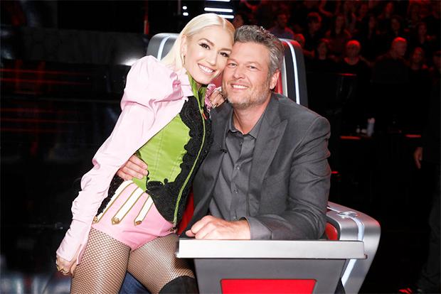 Blake Shelton & Gwen Stefani on 'The Voice'