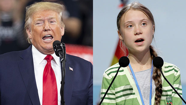 Donald Trump Greta Thunberg