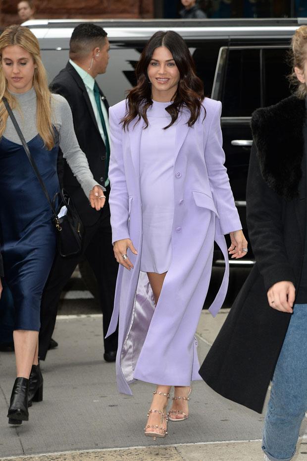 jenna dewan maternity fashion