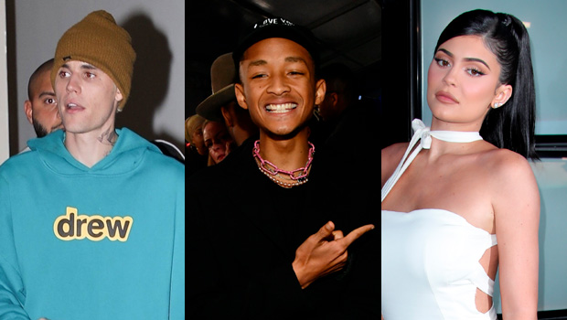 Justin Bieber, Jaden Smith, Kylie Jenner