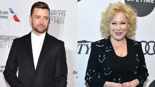 Justin Timberlake, Bette Midler