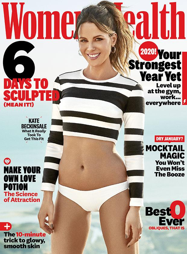 kate beckinsale womens health