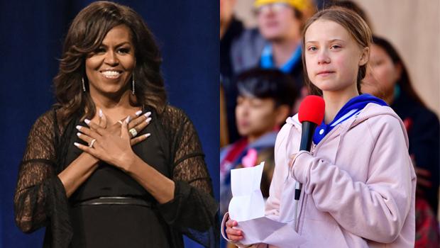 Michelle Obama Greta Thunberg