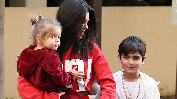 Kourtney Kardashian Reign Mason Disick