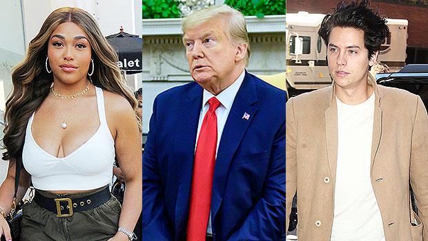 Jordyn Woods, Donald Trump, Cole Sprouse