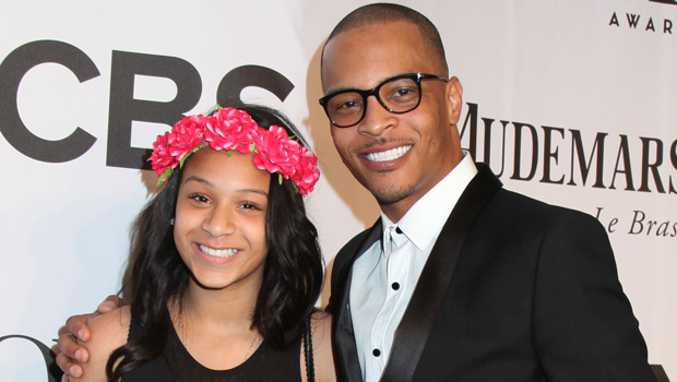 T.I. & daughter Deyjah Harris