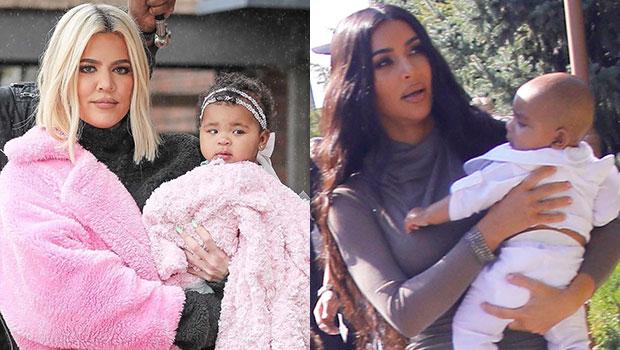 Khloe Kardashian True Thompson Kim Kardashian Psalm West