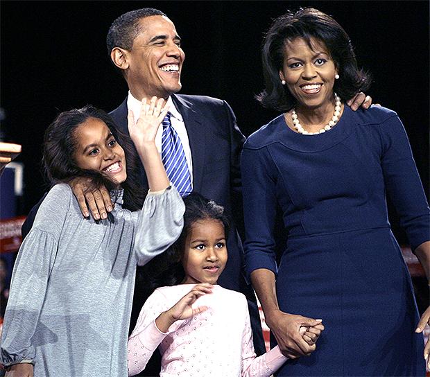 michelle obama family