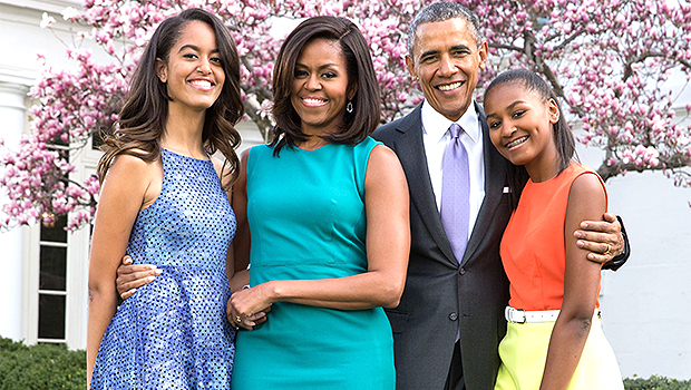 Happy 57th Birthday, Michelle Obama: See Her Sweetest Photos With Barack & Their Daughters