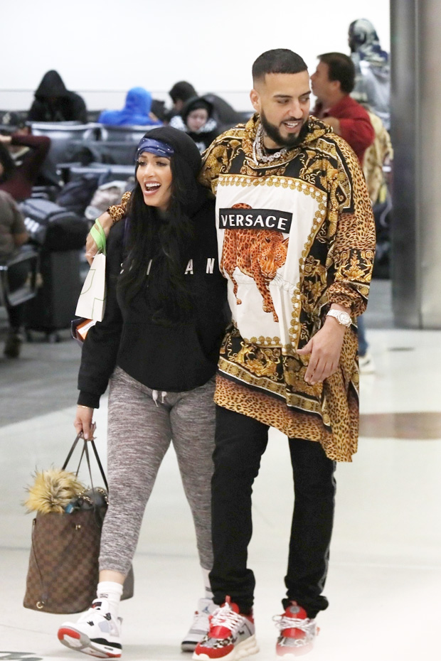 French Montana Anel Peralta Luciano