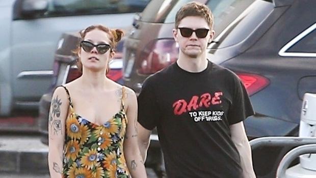 Halsey & Evan Peters