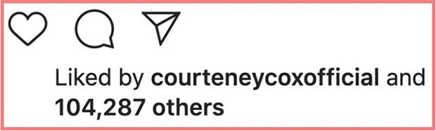 Courteney Cox Comment