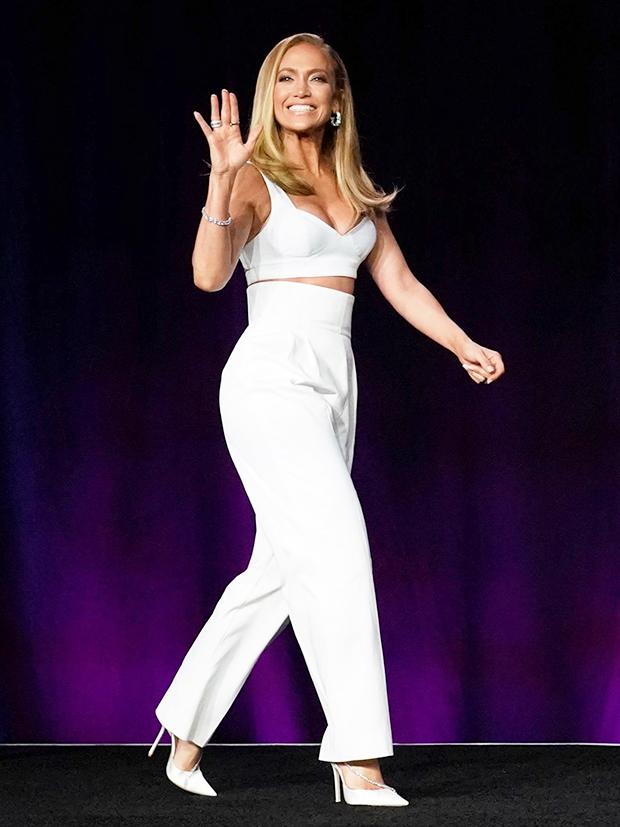 Jennifer Lopez Super Bowl Press Conference