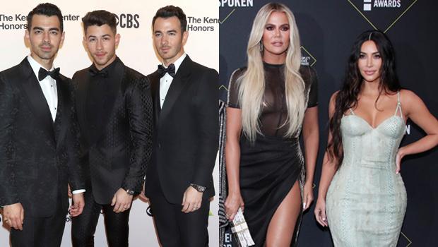 Jonas Brothers, Kim Kardashian, Khloe Kardashian