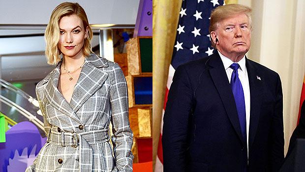 Karlie Kloss & Donald Trump