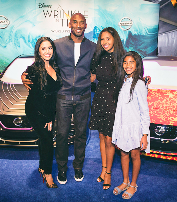 kobe bryant and familiy