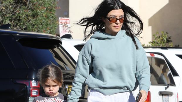 kourtney kardashian son reign cuddle new years day