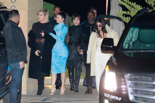 khloe kardashian kylie jenner kris jenner corey gamble kim kardashian