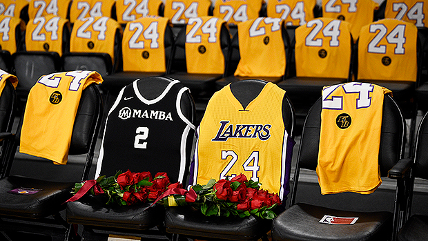 Lakers Tribute to Kobe Bryant