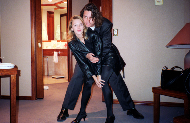 Kylie Minogue, Michael Hutchence