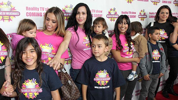 Nadya Suleman & Family