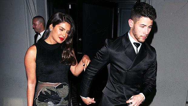 Nick Jonas & Priyanka Chopra after Golden Globes