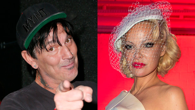 Tommy Lee Reacts Pamela Anderson Wedding