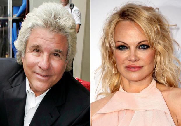 Jon Peters and Pamela Anderson