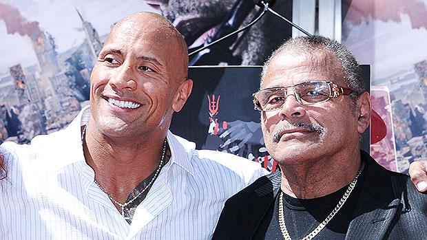 Dwayne 'The Rock' Johnson & Rocky Johnson