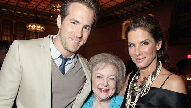 Ryan Reynolds Betty White Sandra Bullock