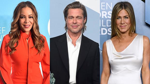 Sunny Hostin Brad Pitt Jennifer Aniston