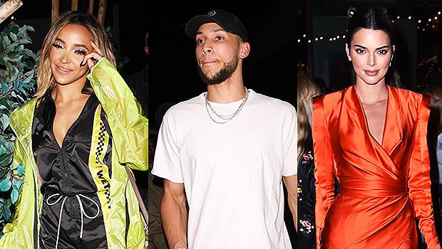 Tinashe, Ben Simmons & Kendall Jenner