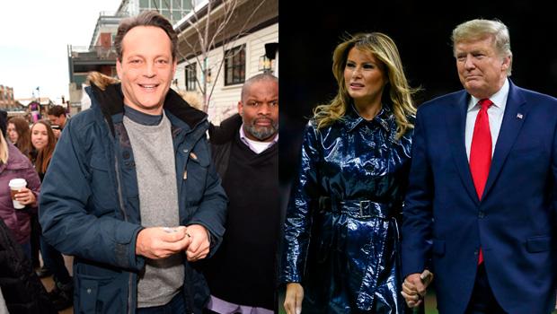 Vince Vaughn, Donald Trump, Melania Trump