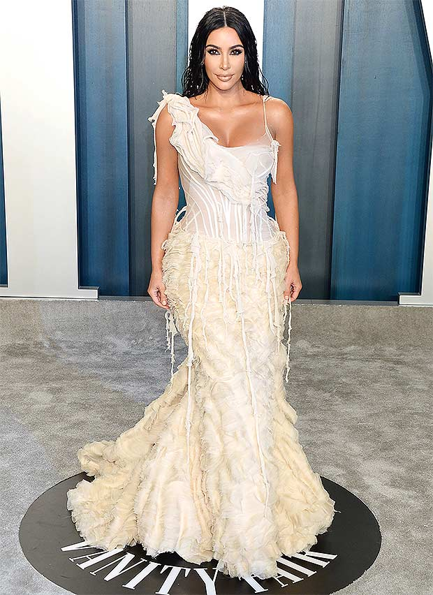 kim kardashian vf after-party oscars