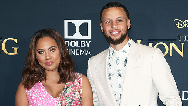Ayesha & Steph Curry with their daughters